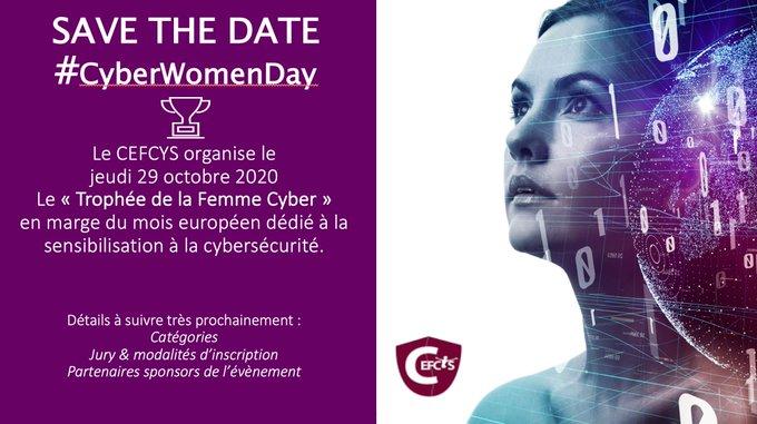 #CyberWomenDay!