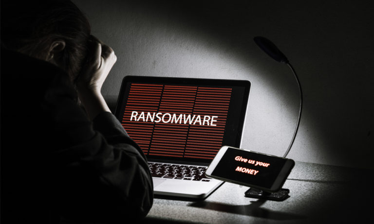 Ransomware news headlines trending on Google