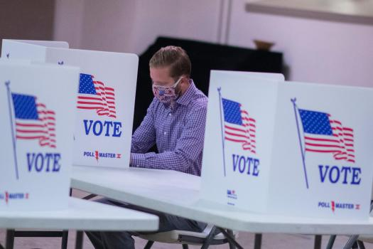 Amid pandemic and upheaval, new cyber risks to the presidential election