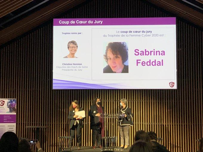 Trophée des femmes de la cyber