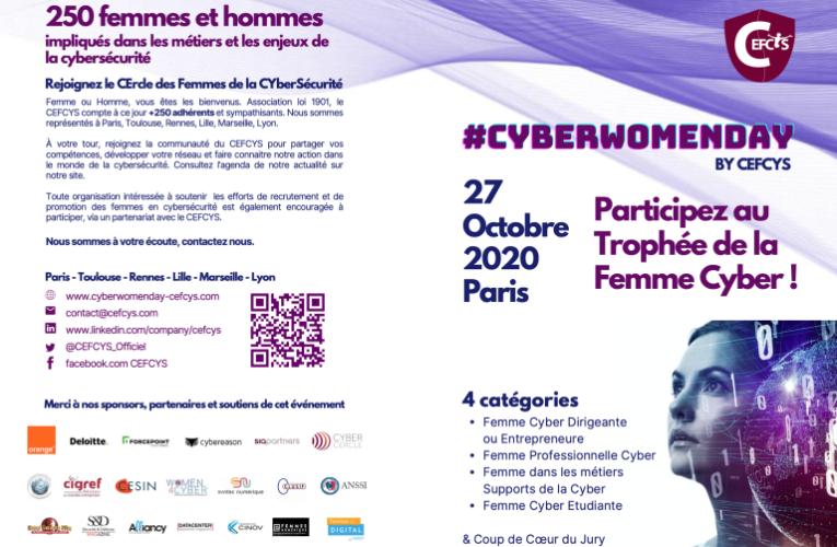 Lauréates du Cyberwomenday 2020