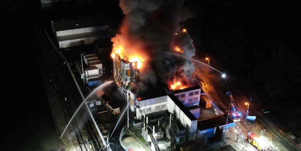 Incendie sur les datacenters d'OVHCloud à Strasbourg