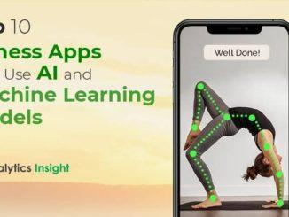 TOP 10 FITNESS APPS THAT USE AI AND MACHINE LEARNING MODELS