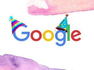 Google's Birthday: Evolution of Google's Capability Over The Years