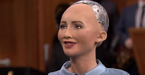Après avoir reçu sa citoyenneté, l'androïde Sophia veut maintenant avoir un bébé robot
