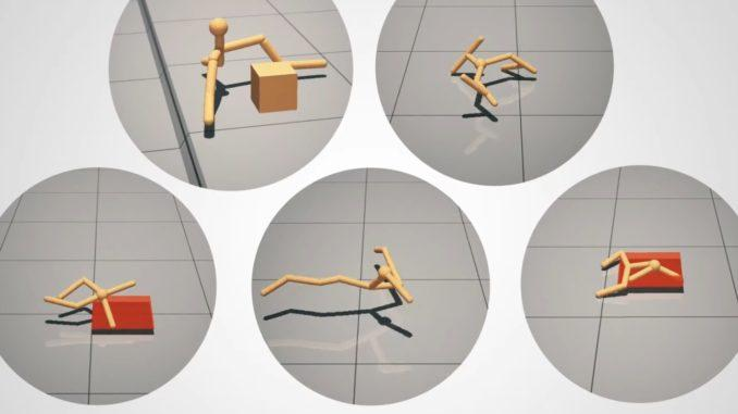 Simulated AI creatures demonstrate how mind and body evolve and succeed together